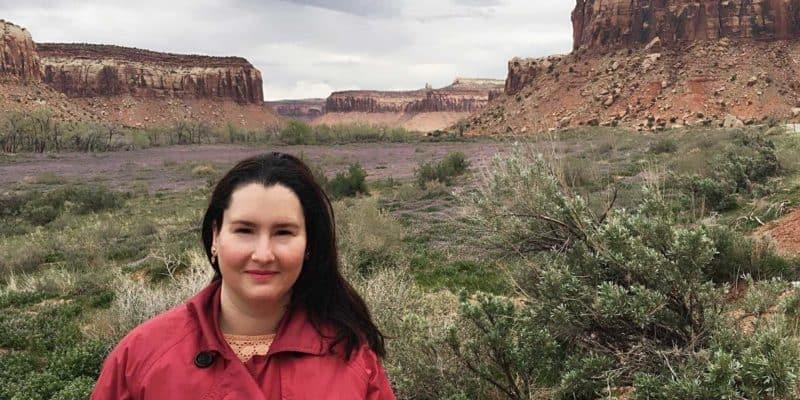 Anca at Canyonland